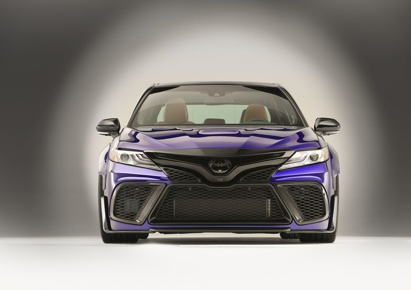 Toyota Camry 2018 tuning
