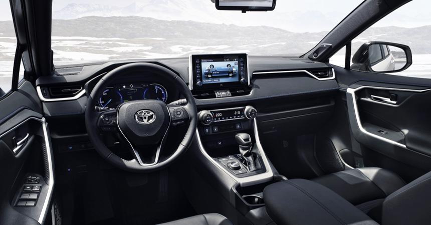 Toyota Rav 4 2019 Interior