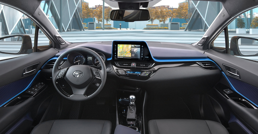 Toyota CHR interior