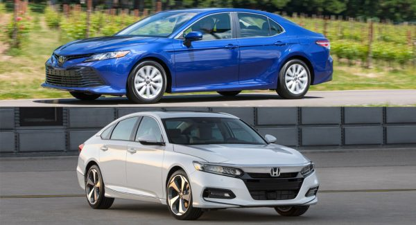 Toyota Camry vs honda accord