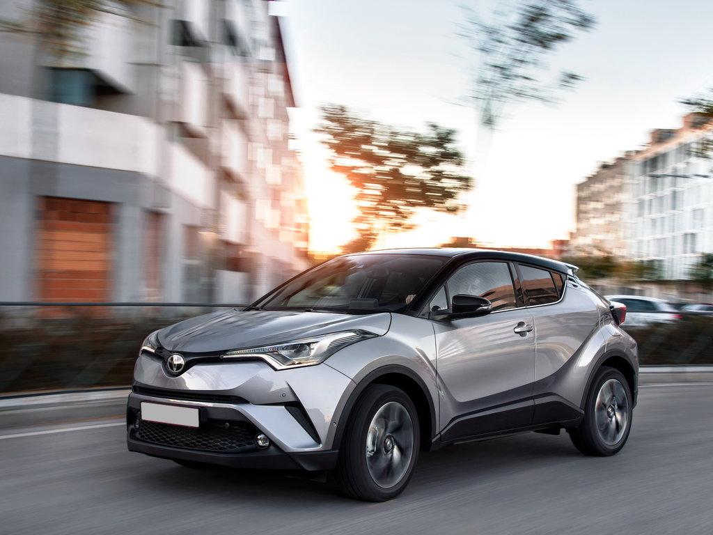 Toyota CHR Russia