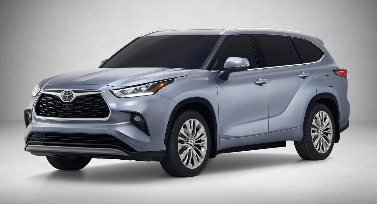 Toyota Highlander 2019-2020 комплектации и цены
